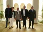 Treffen der Vertreter der SBG mit dem niedersächsischen Finanzminister in Hannover