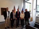 Treffen der Steuer-Basis-Gewerkschaft mit der CDU